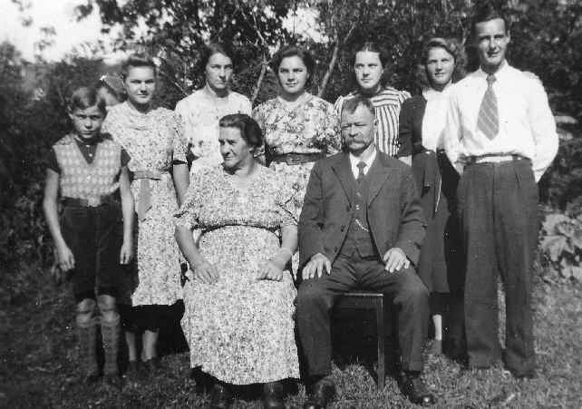 The Steiner Family - circa 1940