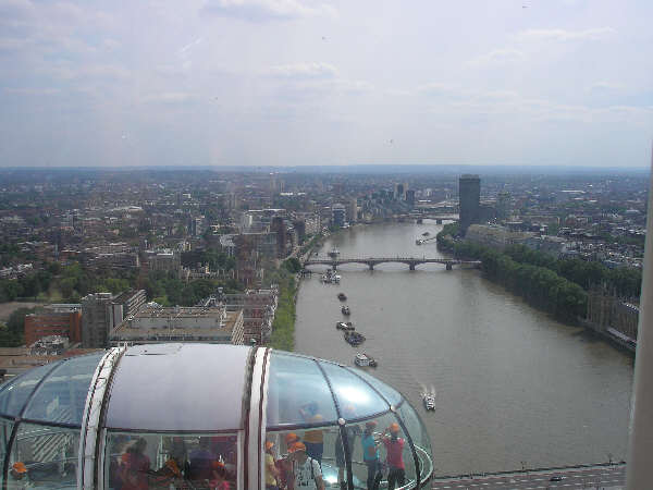 June 2010 - London Eye and Thames Cruise